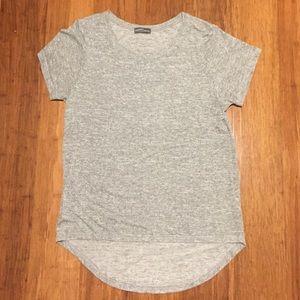Market & Spruce Grey Hi Lo Tee Shirt
